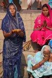 hinduiska ritualer Arkivbilder