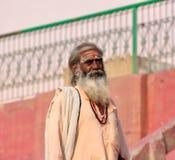 Hinduiska Sadhu Arkivfoto