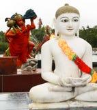 Hinduiska statyer Arkivbild