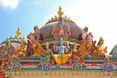 hinduiska statyer för gud Arkivfoton