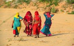 Hinduiskt folk i Indien Royaltyfria Foton