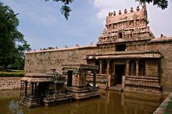 hinduiskt india för forntida darasuram tempel Arkivbild