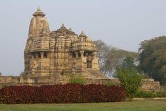 hinduiskt khajurahotempel Royaltyfria Foton