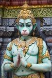 hinduiskt krishnan singapore sritempel Arkivbild