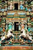 hinduiskt Kuala Lumpur malaysia tempel arkivbilder