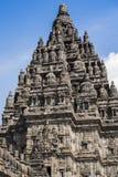 hinduiskt prambanan tempel Arkivfoto