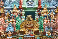 hinduiskt skulpturtempel Royaltyfri Foto