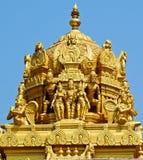 hinduiskt tempel för balaji Fotografering för Bildbyråer