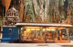hinduiskt tempel för batugrottor Arkivfoton