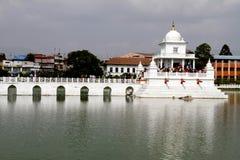 Hinduiskt tempel i Kathmandu Arkivfoton