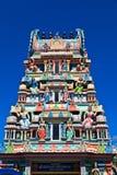 Hinduiskt tempel i Mauritius Arkivfoton