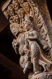 Hinduiskt träsnida Royaltyfria Bilder