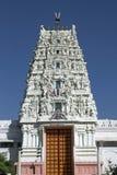 hinduiskt utsmyckat tempel arkivbilder