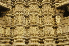hinduiskt utsmyckat tempel royaltyfri foto