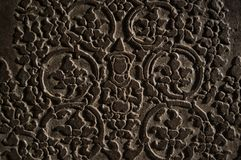 Hinduism bas-relief Stock Image