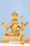 Hinduism Brahma statue Royalty Free Stock Photos