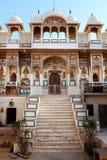 Hinduism do templo em Mandawa rajasthan imagem de stock royalty free