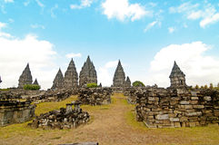 The Hinduism Prambanan Temple Stock Image