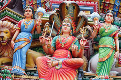 Hinduism statue. In close up stock images