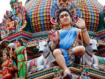 Hinduism statues stock photos