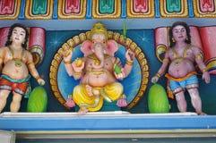 Ganesha. Hinduism statues taken at Sri Aruloli Thirumurugan temple on Penang hill, George town, Malaysia Stock Images
