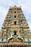Hinduism Temple. In Malaysia Kuala Lumpur royalty free stock photography