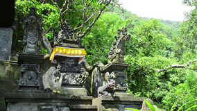 Hinduism Temple in Bali stock footage