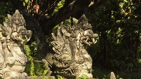 Hinduism Temple in Bali stock video
