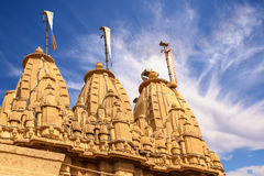 Hinduism temple. In India, Rajastan Asia Royalty Free Stock Photos