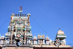 Hinduism Temple In Penang. Hinduism Temple In Georgetown Penang Malaysia royalty free stock photos