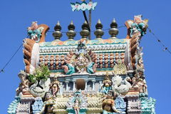 Hinduism Temple In Penang. Hinduism Temple In Georgetown Penang Malaysia stock photos