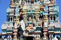 Hinduism Temple In Penang. Hinduism Temple In Georgetown Penang Malaysia royalty free stock image