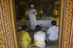HINDUISMO INDONESIANO Fotografie Stock