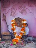 hinduismpuja Fotografering för Bildbyråer
