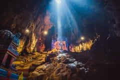 Hinduismstaty av templet på Batu grottor i Kuala Lumpur Royaltyfria Foton