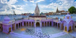 Hinduist寺庙在乔德普尔城,印度 库存照片