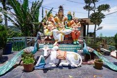 Hinduist staty royaltyfria bilder