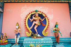 Hinduist staty Kali arkivfoto