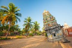 Hinduist Temple Damaged During Tsunami Stock Photo