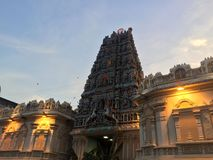 Hinduist temple in Kuala Lumpur Stock Images