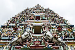 Hinduist temple in Malaysia. Photo taken in Malaysia, Hinduist temple royalty free stock image