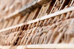 Hinduistische Carvings Lizenzfreie Stockfotografie