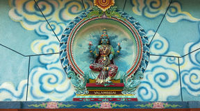 Hinduistische Göttin Stockbild