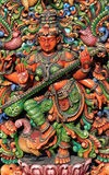 Hinduistische Göttin Saraswathi Stockbild