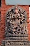 Hinduistische Gottheit stockbild