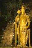 Hinduistische Gottheit nachts lizenzfreies stockbild