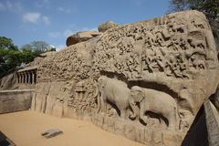Hinduistische Skulpturen lizenzfreie stockbilder