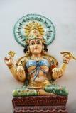 Hinduistische Statuen bei Batu höhlt Kuala Lumpur Malaysia aus lizenzfreies stockbild