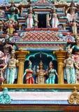 Hinduistische Statuen und Carvings Stockfotografie