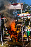 Hinduistische Zeremonie Stockbild